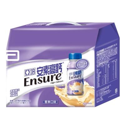 亞培 安素高鈣液 禮盒(237ml x 6瓶)