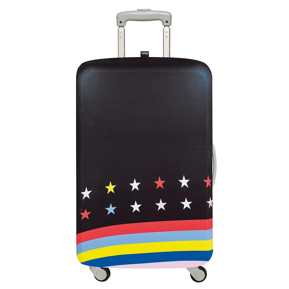 LOQI 行李箱套 - 星條旗【L號】適用28吋以上行李箱保護套