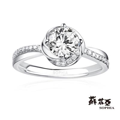 蘇菲亞SOPHIA-求婚戒-GIA幸福相擁0-50