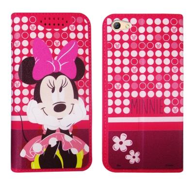 迪士尼正版授權 OPPO R9s Plus 6吋 普普風彩繪手機皮套(米妮)