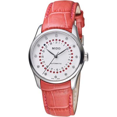 MIDO美度Belluna雋永系列日期窗腕錶(M0242071603609)-33mm