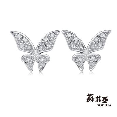 蘇菲亞SOPHIA 鑽石耳環 - 鳳蝶鑽石耳環