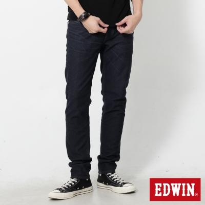 EDWIN 迦績褲JERSEYS貼合內裏保溫直筒褲-男-中古藍