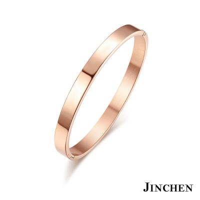 JINCHEN-白鋼情思纏綿-情侶手環