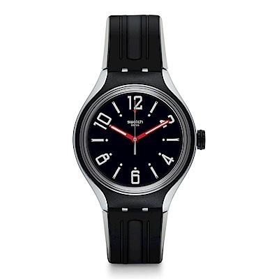 Swatch 就是SWATCH PEPPE酷勁黑尚手錶