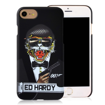 Ed-Hardy-iPhone-7-4-7吋-霧面保護殼-特務老虎