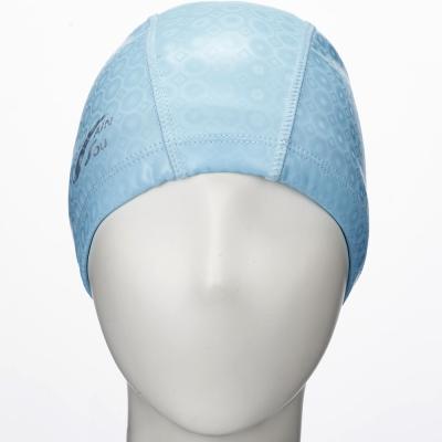 聖手牌 泳帽 水藍色合成泳帽