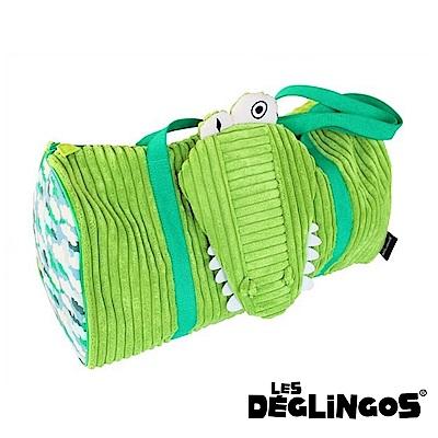 Les Deglingos 立體玩偶旅行側背包(周末休閒包)-鱷魚 (ALIGATOS)