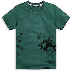 101原創 做夢吧,孩子!短袖T恤上衣-沉穩綠