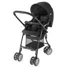 Aprica 輕量自動定位雙向嬰幼兒手推車 Luxuna飛翔系列 覓境黑