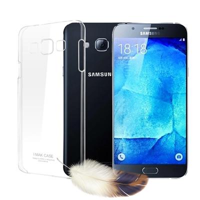 Universal 三星 Samsung Galaxy A8 超薄羽翼耐磨水晶殼...