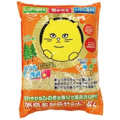 Super cat 超級大頭貓豆腐砂 5L