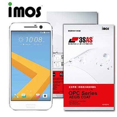 iMOS HTC Desire 10 lifestyle 3SAS 防潑水 防指紋 疏油疏
