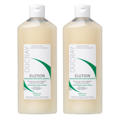 DUCRAY護蕾 控油舒敏洗髮精基礎型200ml(2入組)