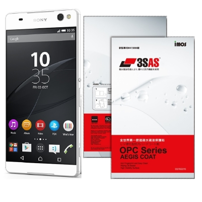 iMOS Sony Xperia C5 Ultra 3SAS 疏油疏水 螢幕保護...