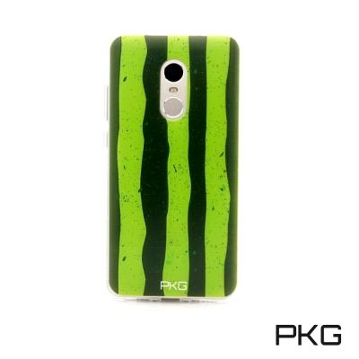 PKG Nokia3/5/6彩繪空壓氣囊保護殼-浮雕彩繪-西瓜手機殼