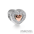 Angemiel安婕米 925純銀 串珠 永恆的愛(玫瑰金)