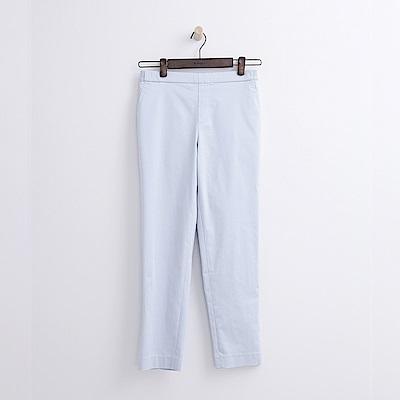 Hang Ten - 女裝 - 錐版修身長褲-淡藍色