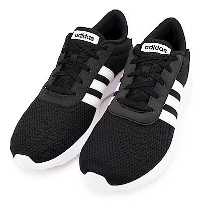 ADIDAS LITE RACER 男休閒鞋 BB 9774  黑