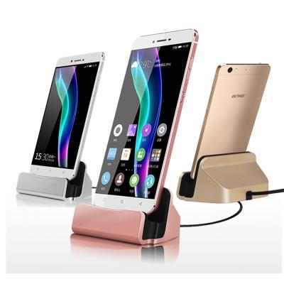 雙面Micro USB手機充電支架絃彩通用底座(DK-M01)