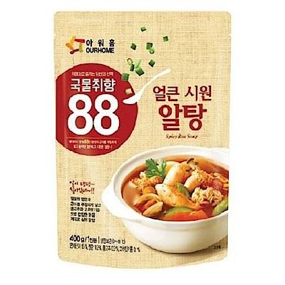 韓味不二 OURHOME辣味魚子湯(400g)