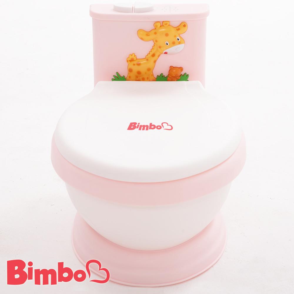 專利兒童音樂馬桶 淺粉紅 台灣製造【BIMBO】
