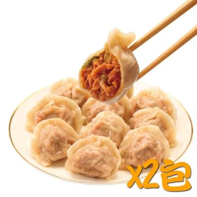 鄉味 泡菜水餃(50顆/包)(2包)