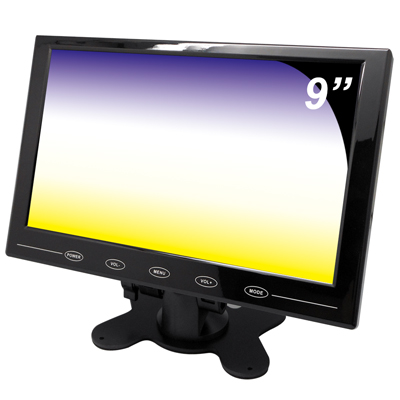 奇巧 9吋LED液晶螢幕顯示器(AV、VGA、HDMI)