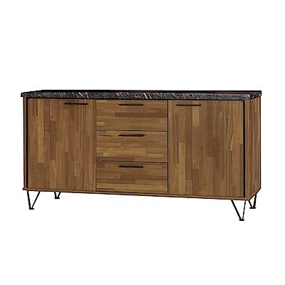 品家居 維多妮5.2尺石面餐櫃下座-156.5x41.5x83.5cm免組