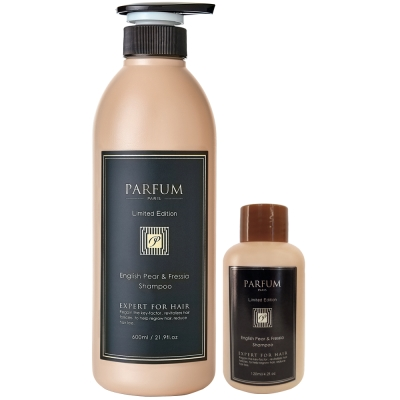 Parfum 巴黎帕芬 香氛精油洗髮精600ml+120ml(多款可選)