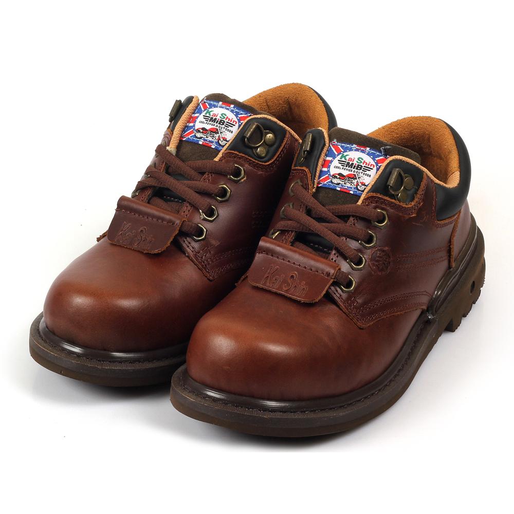 Kai Shin 安全工作鞋 咖啡色 MGU574A03-KP