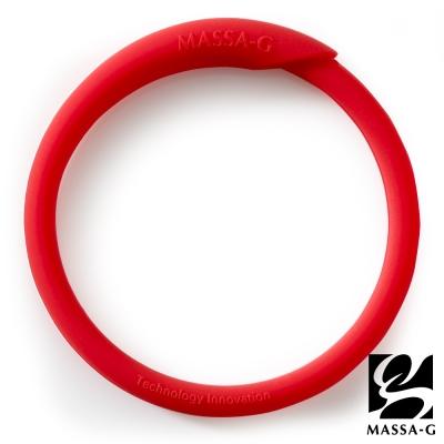 MASSA-G 炫彩動感負離子能量手環-紅