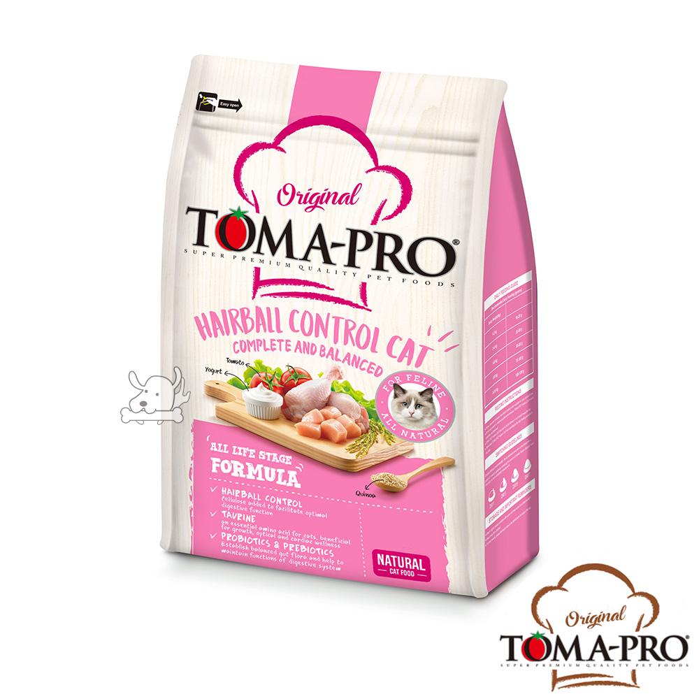 TOMA PRO 優格 化毛高纖 雞肉+米 成幼貓 飼料 3公斤