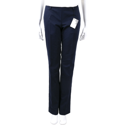 LOVE MOSCHINO 深藍色直筒長褲