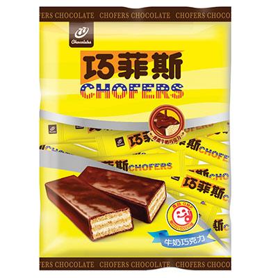 77 巧菲斯牛奶巧克力(190g)