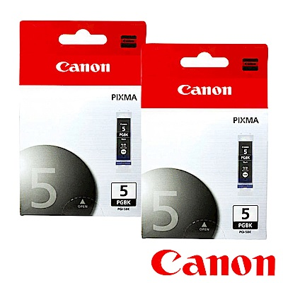 Canon PGI-5BK? 原廠墨水匣組合(2黑)