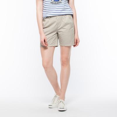 Hang-Ten-女裝-多彩休閒短褲-卡其
