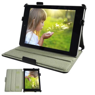 宏碁ACER-ICONIA-A1-810-專用頂級平板電腦皮套-可手持多角度斜立帶筆插