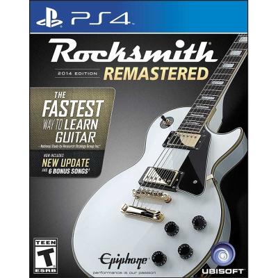 搖滾史密斯 2014 重製版(附音源線) Rocksmith 2014- PS4 英文美版