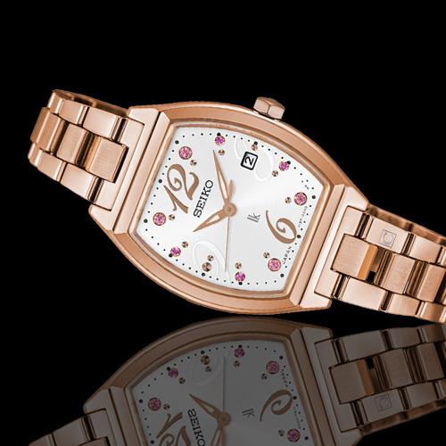 SEIKO精工LUKIA耀眼時刻太陽能腕錶(V137-0CE0J SUT354J1)