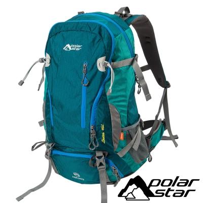 【PolarStar】透氣網架背包40L『綠』(附防雨罩) 登山│健行 P17808