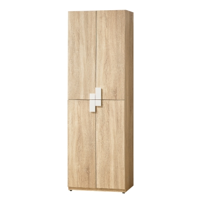 Bernice-納迪亞2尺四門高鞋櫃-60x40x180cm