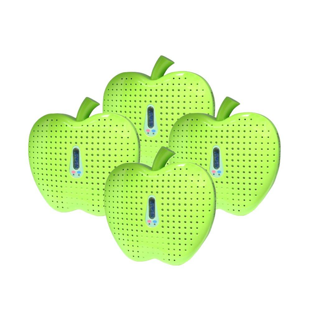 MEIJI(美緻) 無線式除溼機-環保青蘋果(MJ-826)-四入組