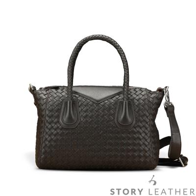 STORY 皮套王 - 羊皮編織側背包 Style 6685 訂做賣場