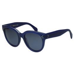 CELINE- 圓面復古 太陽眼鏡 (藍色)