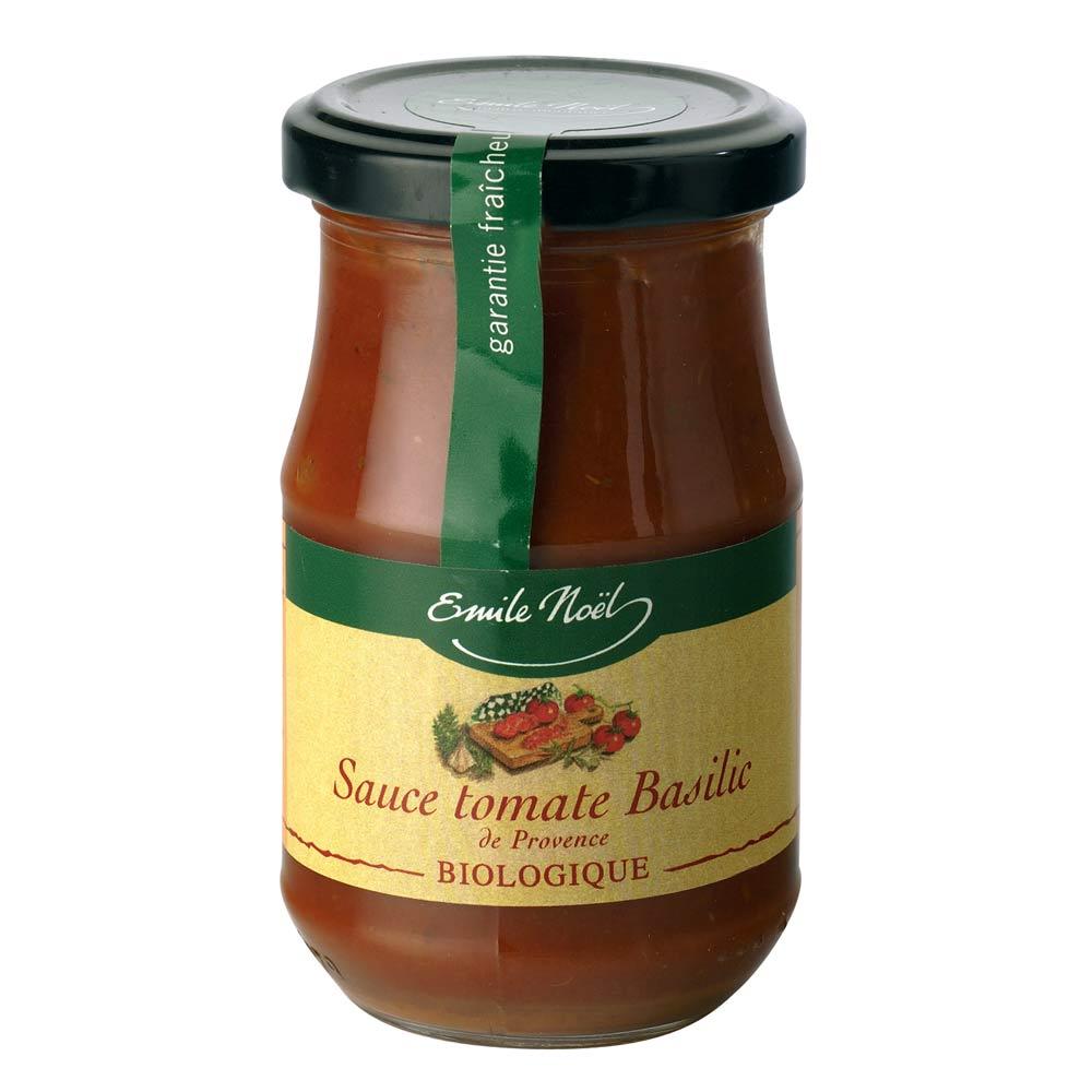 艾米爾 諾耶法國有機羅勒番茄醬190g