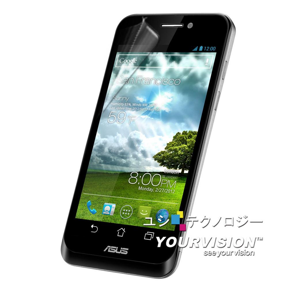 ASUS PadFone 變形手機 晶磨抗刮高光澤(亮面)螢幕貼(單購贈鏡頭膜)