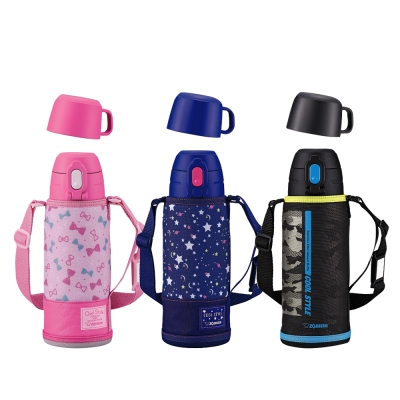象印*0.82L*童用不鏽鋼真空保溫瓶(SP-JA08) (8H)