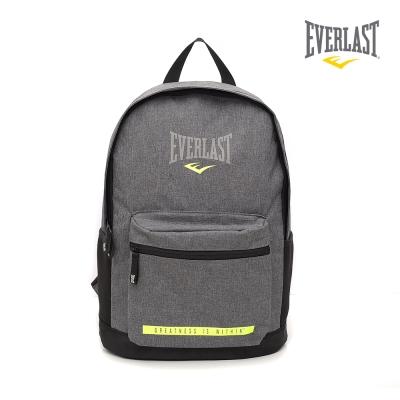 EVERLAST 拳擊運動品牌-休閒電腦後背包-灰