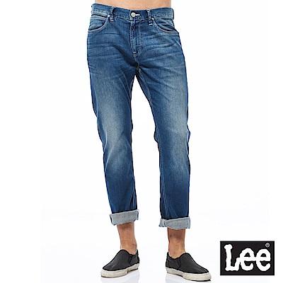 Lee 牛仔褲 726中腰舒適小直筒牛仔褲-男款